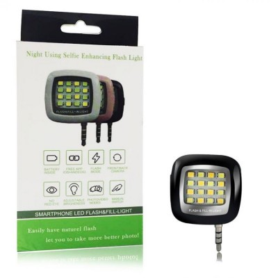 16 LED Selfie Flash Light-C: 0001