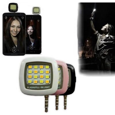 16 LED Selfie Flash Light-C: 0001