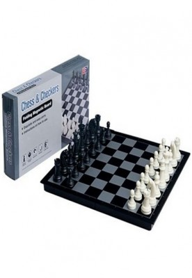 3 in 1 travel magnetic chess checkers