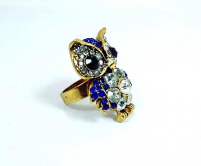 OWL FINGER RING