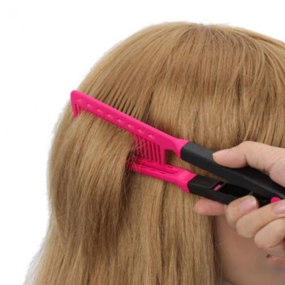 Curling Hair Styling Comb-C: 0016