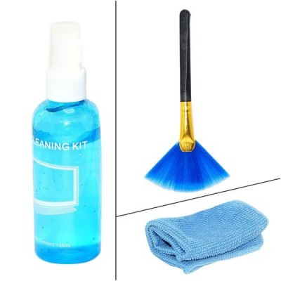 3 In 1 Lcd Screen Cleaning Kit Liquid-C: 0013.