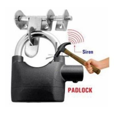 Anti - Theft Padlock Bike / Door Alarm Lock-C: 0211