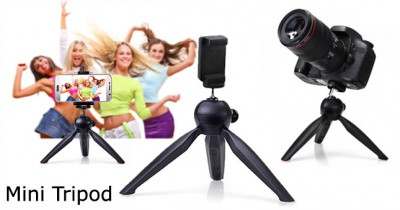 Lr - 108 Mini Tripod With Mobile Holder-C: 0217