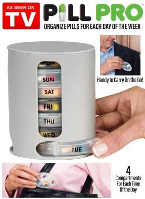 Pill Pro Organizer - As Seen On Tv-C: 0223
