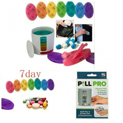 Pill Pro Organizer - As Seen On Tv-C: 0223