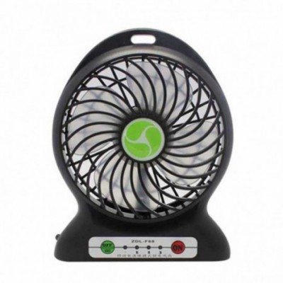 PORTABLE USB RECHARGEABLE FAN WITH  LIGHT
