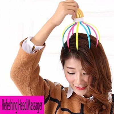 Refreshing 9 Claw Head Massager-C: 0026.