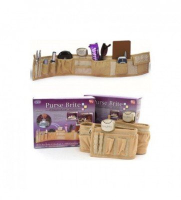 Purse Brite Organizer - Cosmetic Carrying Bag-C: 0038