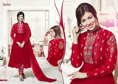 BEAUTIFUL STYLISH GEORGETTE WITH EMBROIDERY WORK salwar kameez suit  ayesha 012