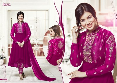 BEAUTIFUL STYLISH GEORGETTE WITH EMBROIDERY WORK salwar kameez suit  ayesha 014