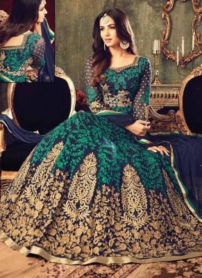 georgette with embroidery work salwar kameez suit maisha 032