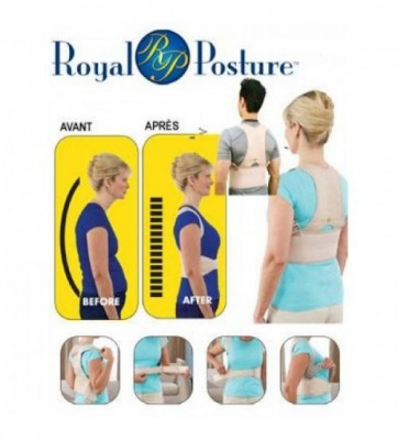 Royal Posture Back Support-C: 0043