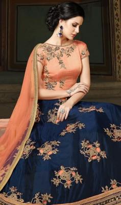 georgette with Embroidery Floor Length Designer salwar suit   sonal 027