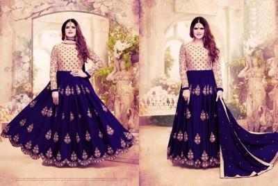 georgette with Embroidery Floor Length Designer salwar suit  zara 041