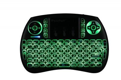 2.4GHz Mini Wireless Multi-Color LED Backlit Keyboard