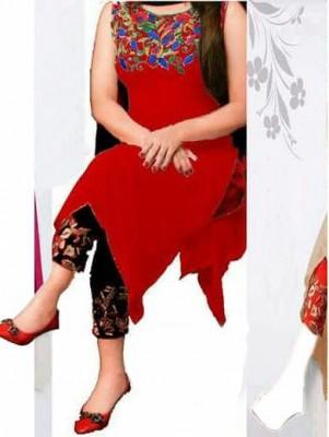 un-stitched georgette salwar kameez-1108