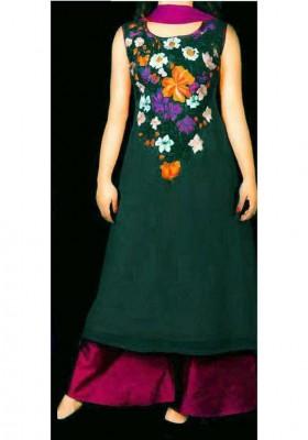 un-stitched Georgette salwar kameez-1112