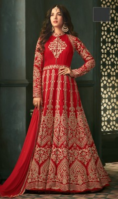 Designer Embroidered anarkali Suit maisha-5302