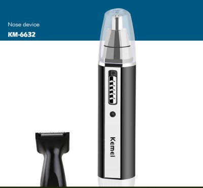 Kemei KM - 6632 Nose Trimmer 2 In 1-C: 0263.