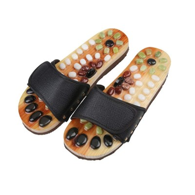 Wooden Slippers Reflexology Shoes Acupuncture-C: 0265.