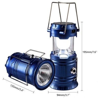 Solar Camping Light 2 In 1 - YT 829-C: 0272.