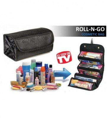 ROLL-N-GO Travel Cosmetics Bag-C: 0075