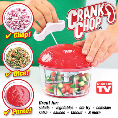 Crank Chop - As Seen On Tv-C: 0282.
