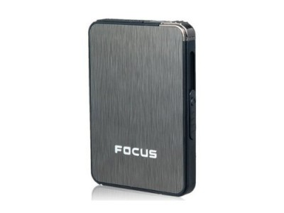 Focus Cigarette Case With Lighter-C: 0283
