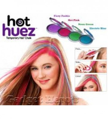 Hot Huez Intantly Hair Colour - 4 Pcs-C: 0083