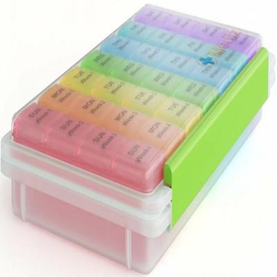 Pill Organizer - 28 Days Planner-C: 0306.