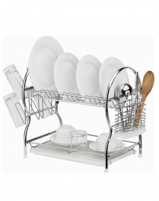 2 layer kitchen dish rack