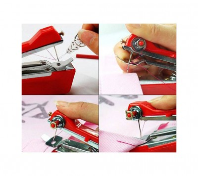 Mini handy sewing machine