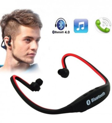 Wireless Bluetooth Mp3 Player Headset With Mic-C: 0089