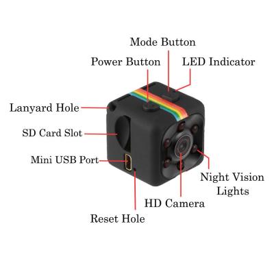 SQ11 Mini Camera 1080P HD DVR-C: 0315