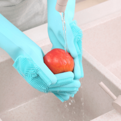 Kitchen Silicone Gloves - 01 Pair-C: 0316