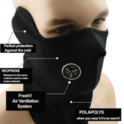 Face Dustproof Mountaineering Mask-C: 0318
