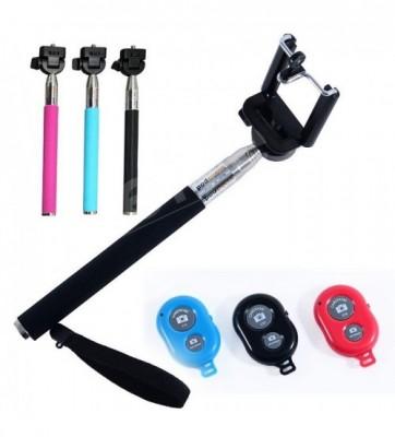 Monopod Selfie Stick + Remote-C: 0096