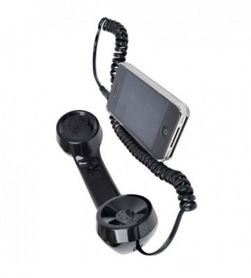 Mini Plug In Retro Phone Handset-C: 0120