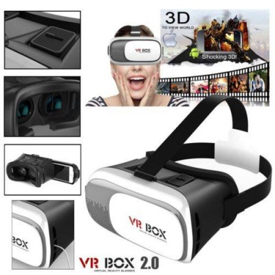 VR BOX Play Virtual Reality 3D Glasses-C: 0134