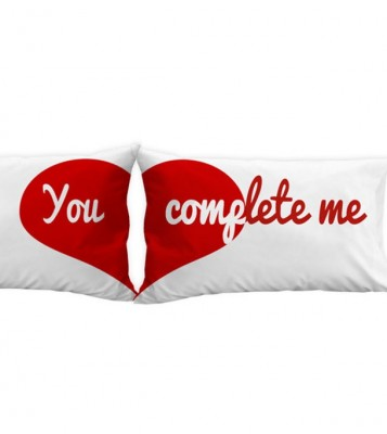 You Complete Me Valentine Pillow Cover ARF00059