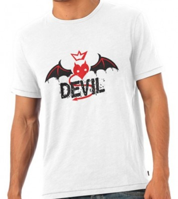 Devil Angel Valentine Couple T-Shirt By Aurthi Fashion AF 0085