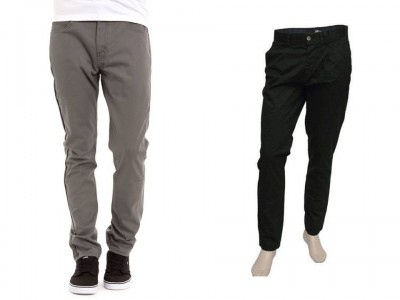 2 Pieces Gabardine Pants For Gents