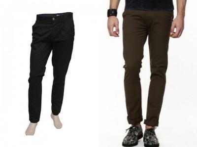 2 Pieces Gabardine Pants For Gents