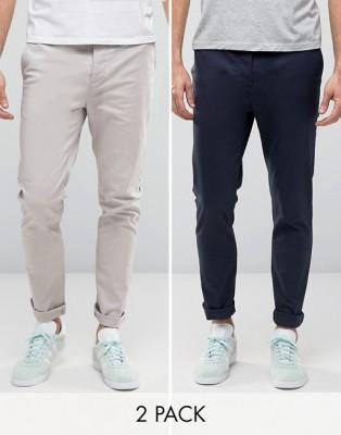 2 pcs Gabardine Pants For Gents GP-221