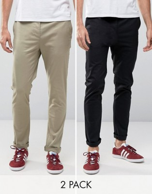 2 pcs Gabardine Pants For Gents GP-222
