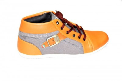 Men High Neck Shoes MSS-20