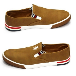 Slip On -Leather Canvas Keds MSS-177