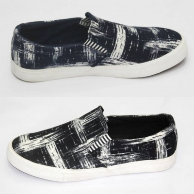 Slip On -Leather Canvas Keds MSS-179