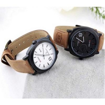 Curren  Branded Wrist watch For Man Combo Pack 2 pcs MWW-055
